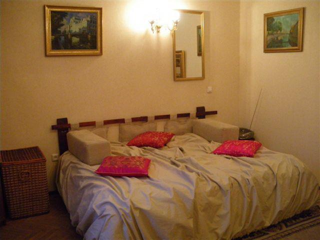 king-size bed - Charming apartment in  St.Petersburg city center - Saint Petersburg - rentals