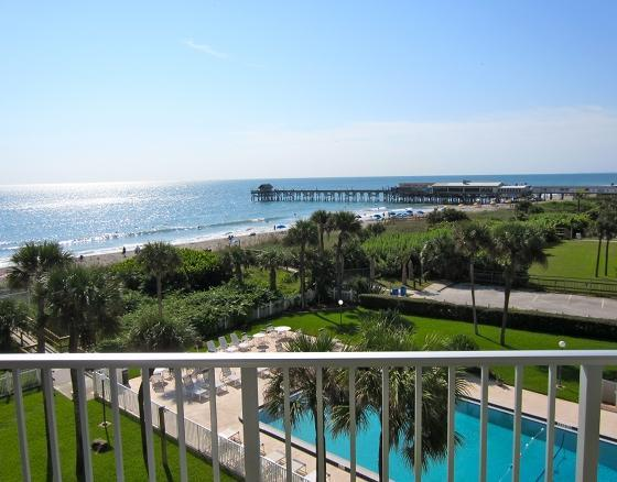 View from the Balcony! - ** Direct Oceanfront Penthouse ** Next to Pier! - Cocoa Beach - rentals