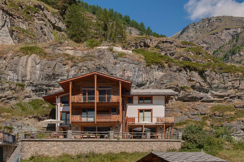 Summer - Chalet Ibron - for 8 -  independent freestanding - Saas-Fee - rentals