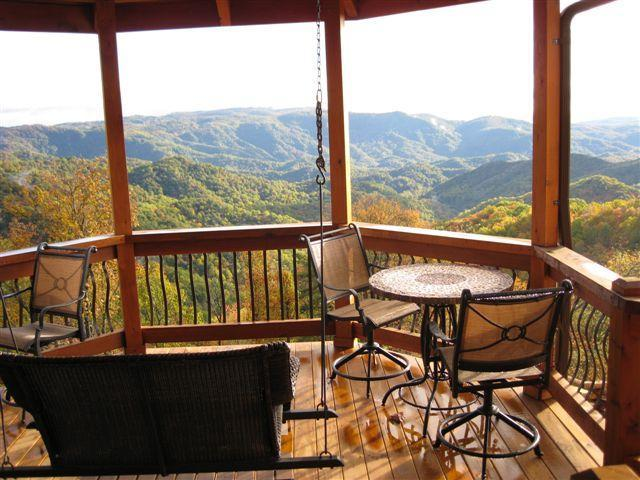 Magical Views - AMAZING VIEWS & PRIVACY:  The CABIN at KILKELLYS - Boone - rentals