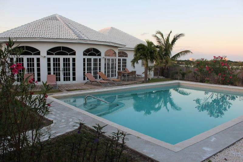 Back view of the house with private pool - Pure Luxury in Paradise -- 5 Bed Villa with Pool - George Town - rentals