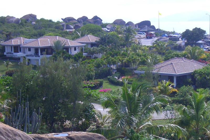 Las Brisas (Left)  & Casita (Right) - Las Brisas British Virgin Island Vacation Villa - The Baths - rentals