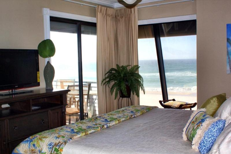 Master Bedroom View - Fun In the Sun at Gulf Gate 3BR Gulf Front Retreat - Panama City Beach - rentals