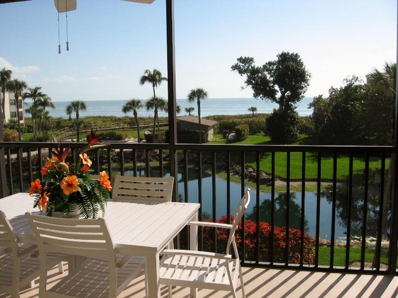 Our View from Lanai - September Special - Renovated Beach Front Condo - Sanibel Island - rentals