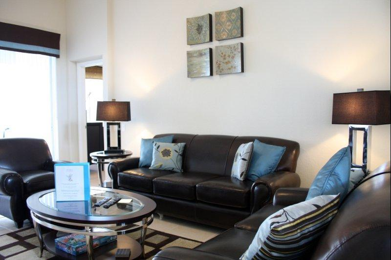 Elegantly furnished providing comfort and style. Enjoy watching the 40inch wide screen HD TV and DVD - 5Star Florida Dream Villa  - Windsor Hills Resort - Kissimmee - rentals