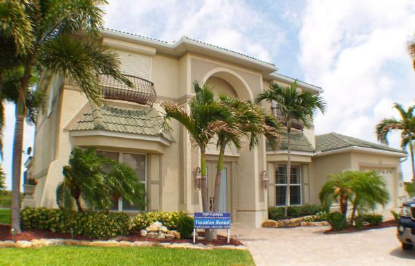 Front view of Paradise Pointe - SUMMER DISCOUNT-BEAUTIFUL SUNSET-CAPE HARBOUR AREA - Cape Coral - rentals