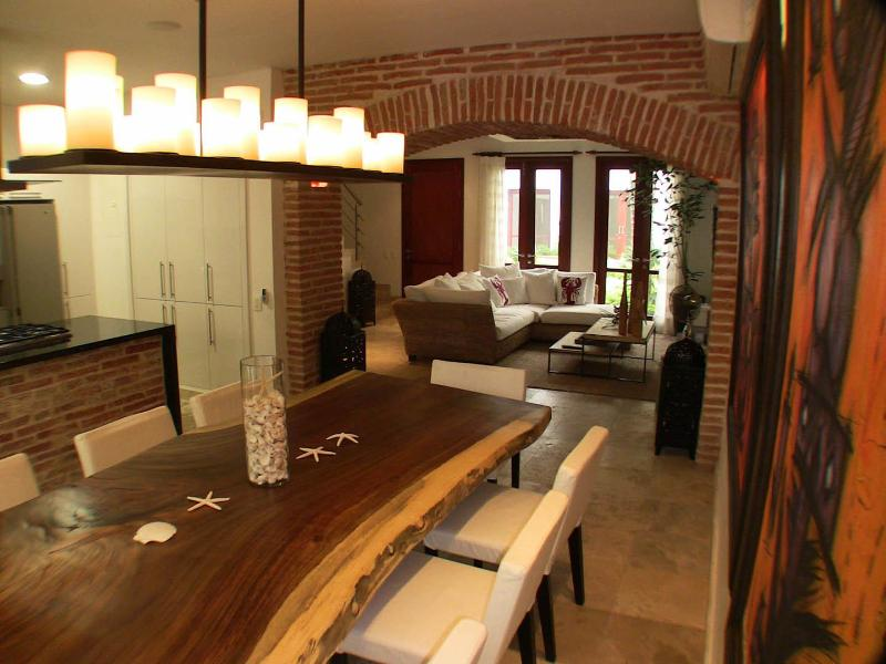 Dinning room - Luxury home in the Old Cartagena - Cartagena - rentals