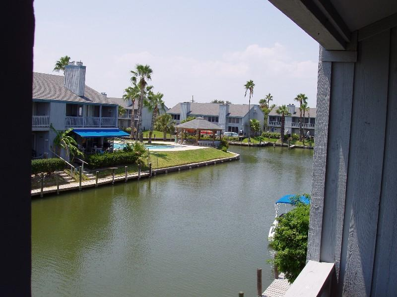 """Great View from the back porch down the canal - there is a boat slip with your name on it! - """"Aloha Retreat"""" with Boat Slip: $189/nt - $929 /wk - Rockport - rentals"""