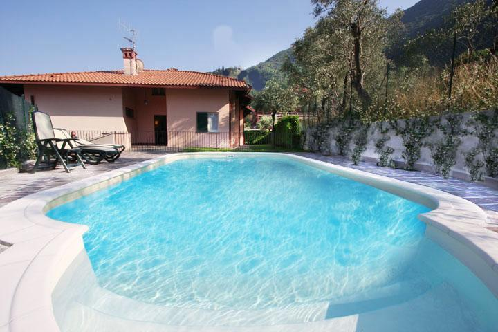 Beautiful villa, lakeview, POOL & private beach - Image 1 - Bellagio - rentals
