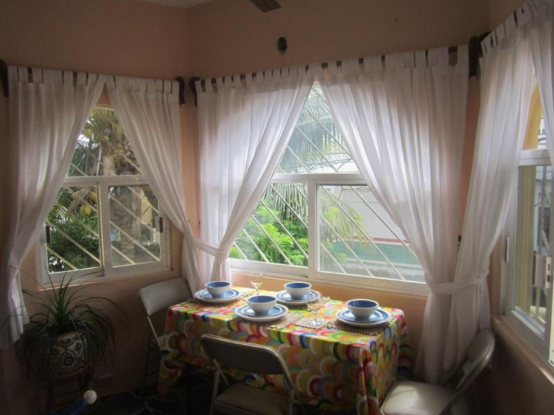 A romantic dining!! - Private, Safe, Bright Apartment in Tulum Center - Tulum - rentals