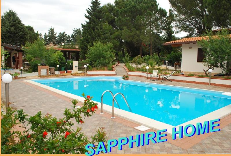 SAPPHIRE HOME WITH POOL SALT WATER AND NATURAL CHLORINE - SAPPHIRE HOME,SPECIAL PRICE X 2,PALERMO,POOL SALT WATER - Balestrate - rentals