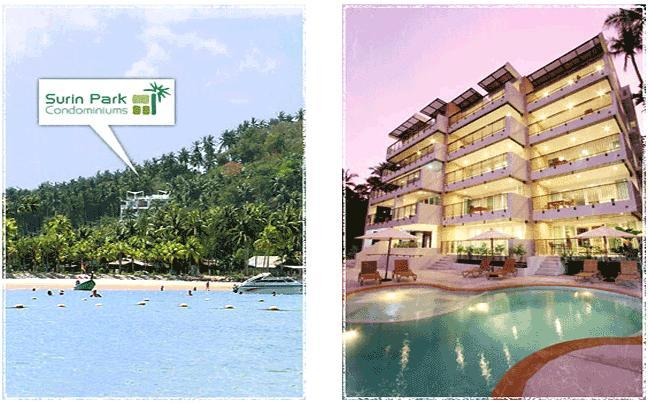 Exterior - Sea view 2-bedrooms apt., a few steps to the beach - Surin Beach - rentals