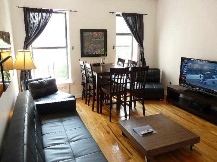 Living Room - City: 1 Bedroom for 1 to 6 Guests - New York City - rentals