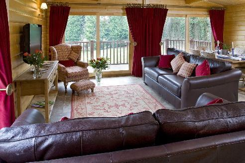 Open plan living area - Cherbridge Cottages - Riverside lodge - Oxford - rentals