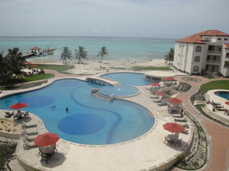 View From Office - Ocean View Condo  Belize Central America - San Pedro - rentals