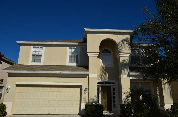 Front of Home - Windsor Hills Disney Themed Lake Front Villa-pool - Kissimmee - rentals