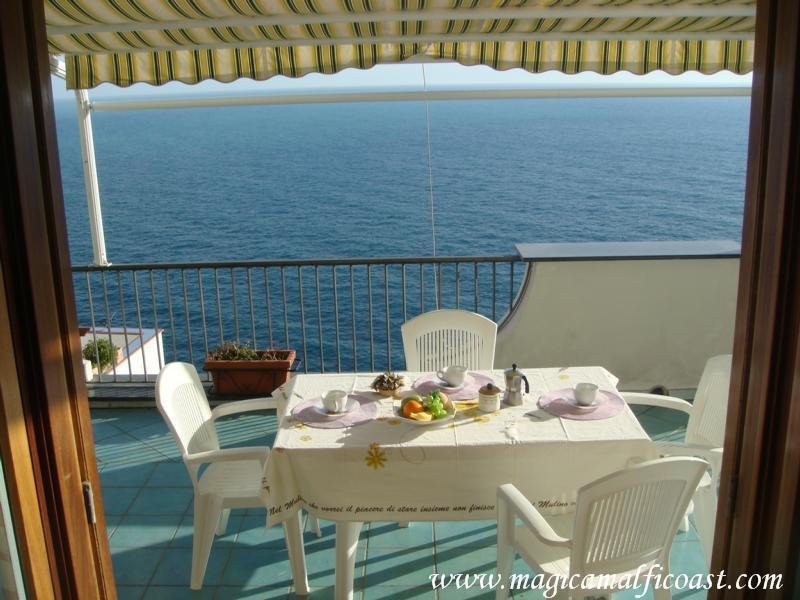 Raffaela A - Casa Raffaela -apartments with seaview and garage - Praiano - rentals