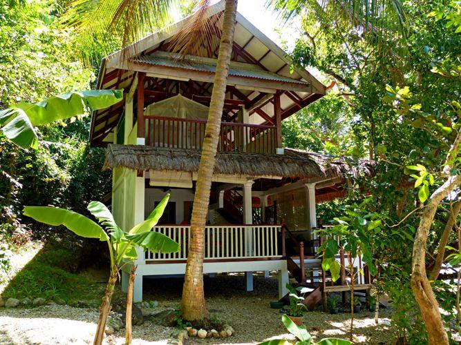 Beach house front view - ALAM INDAH BEACH RESORT - ALL INCLUSIVE, FREE WIFI - Busuanga - rentals