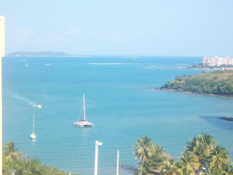 VIEW FROM APARTMENT - Gorgeous  New 0cean View Corner Apartment- - Fajardo - rentals