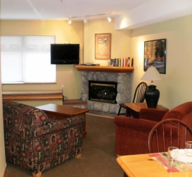 Living Area - Jim and Virginia at Creekside - Whistler - rentals