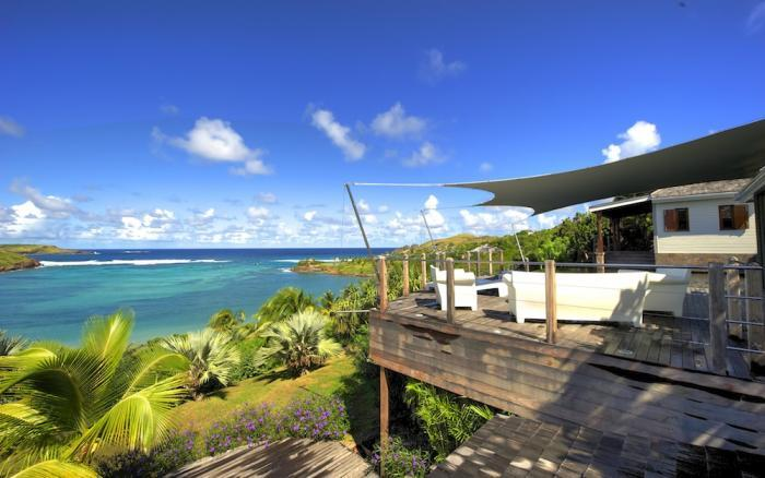 Luxury 6 bedroom Petit Cul de Sac villa. Private beach and gazebo! - Image 1 - Petit Cul De Sac Beach - rentals