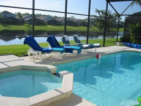 Private pool/spa with Lake view - Luxury Villa with Lake view and close to Disney. - Orlando - rentals