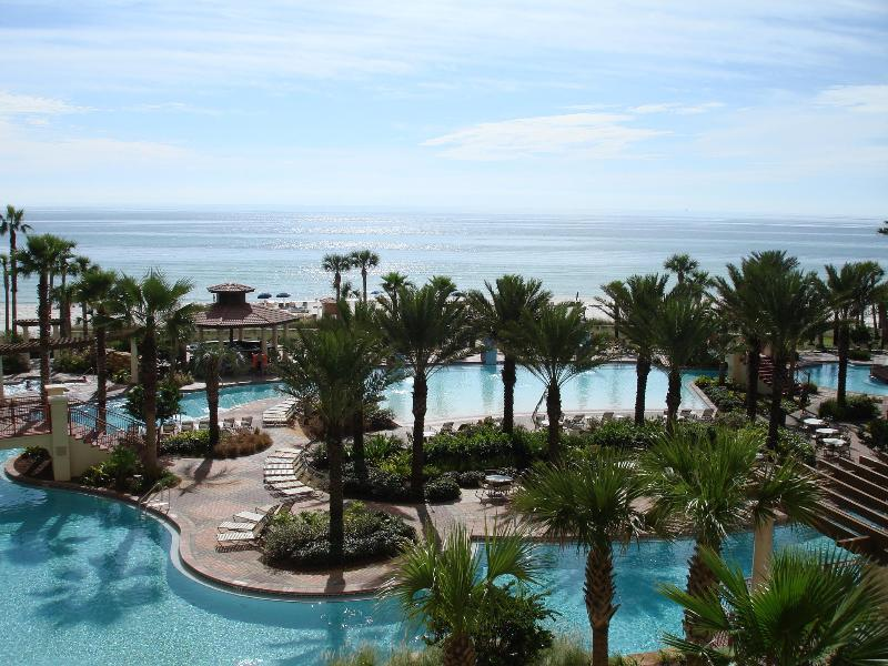 lagoon pool and ocean view - August Specials  Email today  6 units available - Panama City Beach - rentals