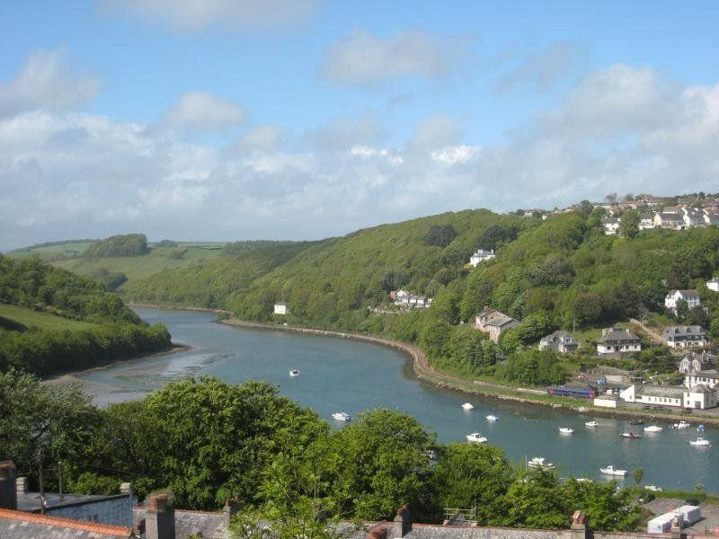 View from Denzell - Holiday let with magnificent view, Looe Cornwall - Looe - rentals