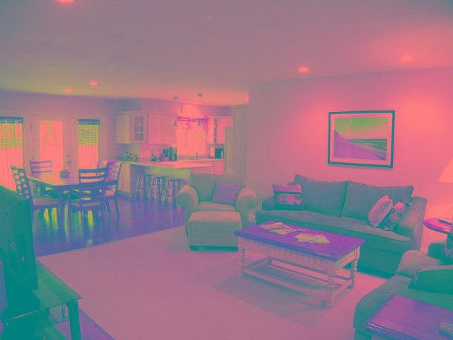 Living Area - Gorgeous 4 BR Property with Central A/C, King Bed & Garage - YA0396 - Yarmouth - rentals