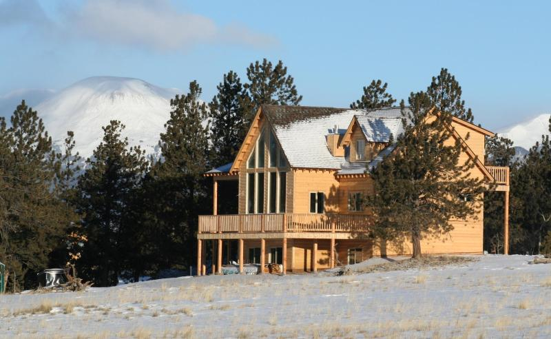 Newly constructed cabin sits on 3 1/2 acres - The Cabin at Trout Creek - Buena Vista - rentals