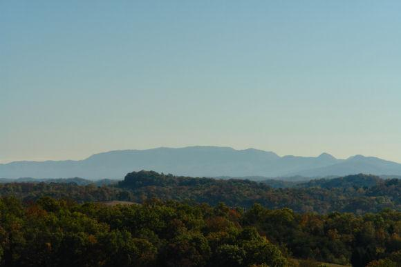 View from side of cabin - STUNNING VIEW AND 3 LEVELS OF FUN ! - Sevierville - rentals