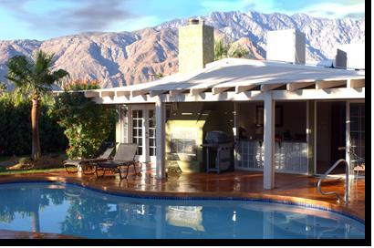 Morning Rain - Casita Tranquila -Palm Springs Vacation Home - Palm Springs - rentals