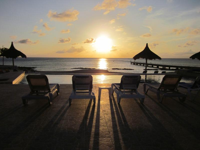 A Sunset at the Pool  - Casa Catarina is Affordable Luxury! - Cozumel - rentals