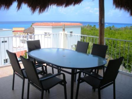 Panoramic views from Sol Caribe's 3rd story terrace!! - Villa Sol Caribe - Affordable luxury in paradise! - Cozumel - rentals