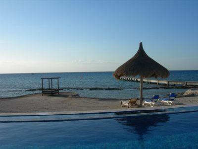 You'll enjoy the Infinity pool and a private pier as guests of Tango del Mar - Tango del Mar, Perfect for Families & Small Groups - Cozumel - rentals