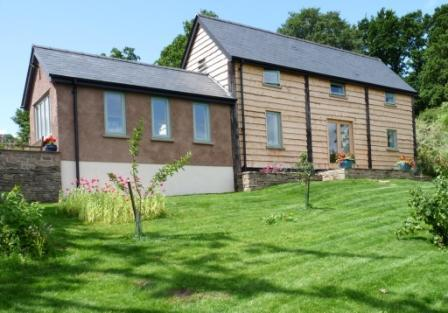 Merryfields Barn from front of property - Luxury rental barn in Brecon Beacons National Park - Crickhowell - rentals