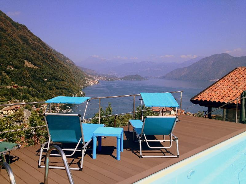 Rooftop pool and View - Villa Bruna - Argegno - rentals