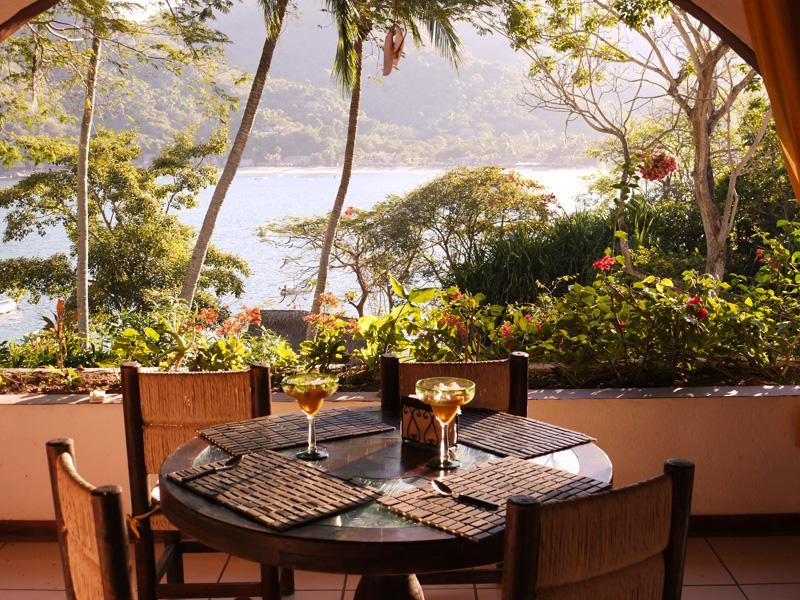 Dining area - Casa Joanie - Welcome to paradise! - Yelapa - rentals