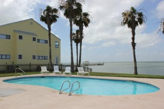 Bayside swimming pool at Copano Breeze - Copano Breeze - Rockport - rentals