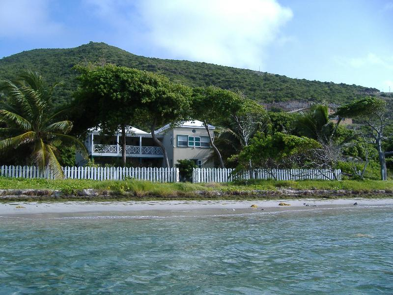 The House from the Sea - SECLUDED  OCEANFRONT AT TURTLE BEACH, ST.KITTS - Saint Kitts - rentals