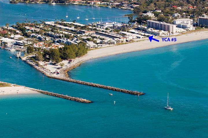 Aerial View of #5 - Yacht Club Apartments #5 - Venice - rentals