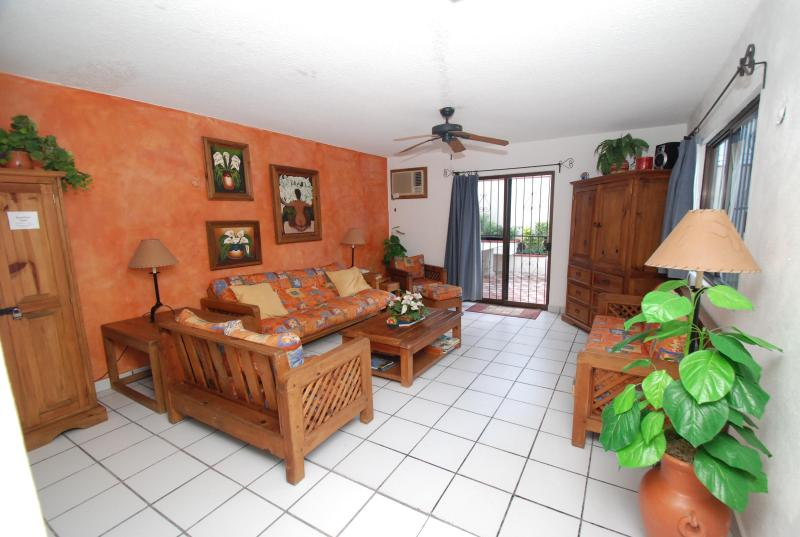 Full size living room - Casa Nuestra-Private 3BR Luxury Home with-Own Pool - Cozumel - rentals