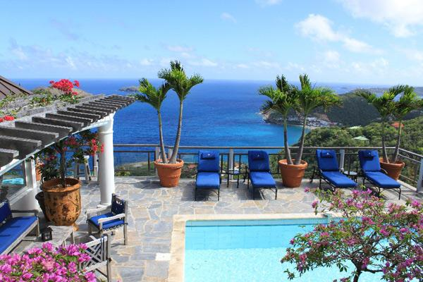 Perched on a seaside bluff, this villa will charm you with a ravishing seascape. WV KER - Image 1 - Colombier - rentals