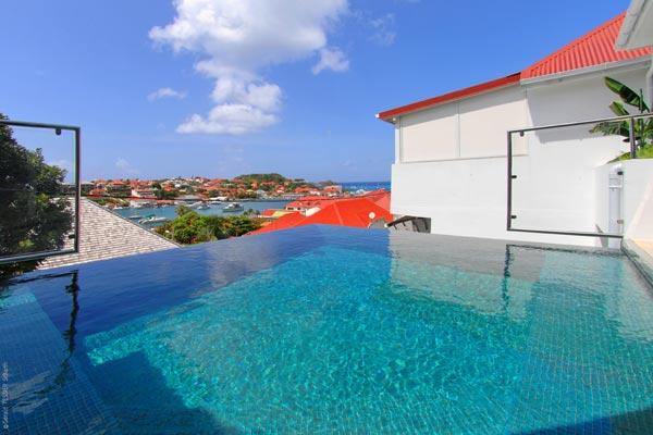 Modern villa ideally located on the hillside of Gustavia WV ROS - Image 1 - Gustavia - rentals