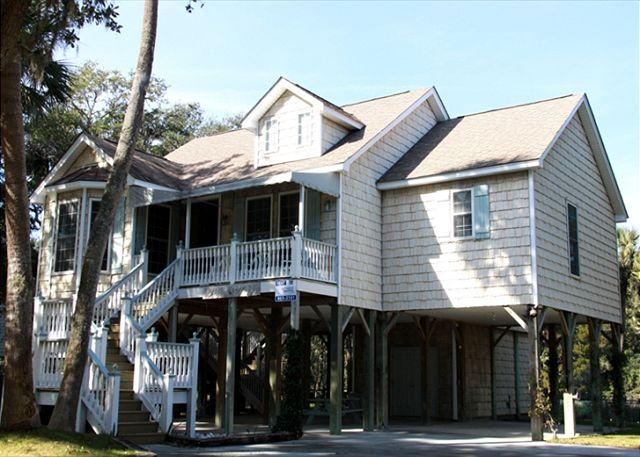 Big Honey Do - Adorable Beach Walk Home - Image 1 - Edisto Beach - rentals