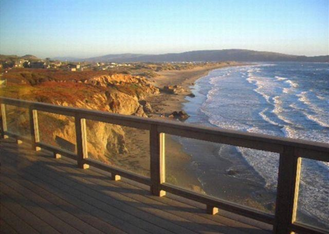"""The view from your deck is stunning!! - """"Sea Glass""""Stunning Bluff Home, 5 min walk to Beach! Hot Tub! Endless VIEWS! - Dillon Beach - rentals"""