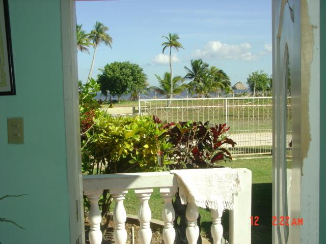 looking out door to the seashore - Beautiful  SEAVIEW Furnished  Apt. - Corozal Town - rentals