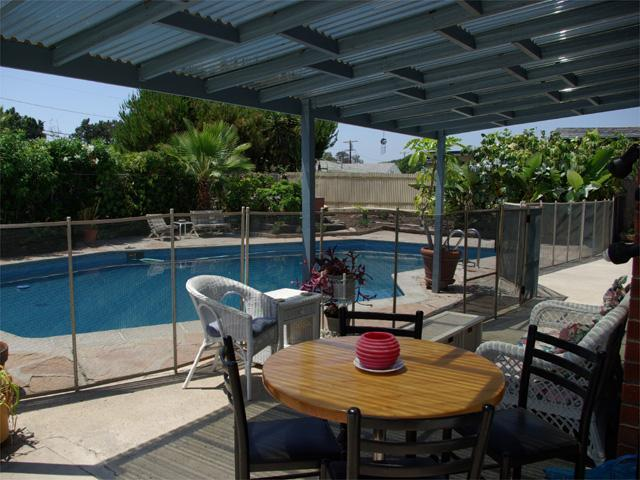 Patio & Pool - Pool & Large Jacuzzi 4 Br, 3 Bath & close to all - San Diego - rentals