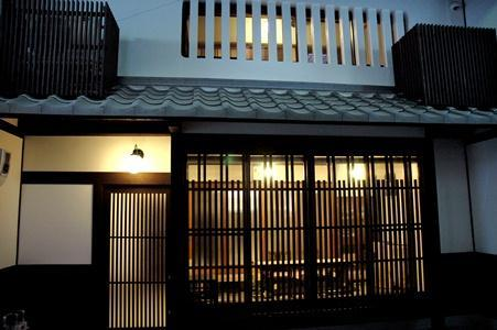 From outside in the arcade - Kyoto machiya townhouse near Gion - Kyoto - rentals