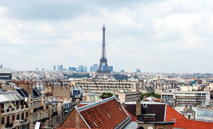 View of the Eiffel Tower from the apartment - The Eiffel Tower Tradition - Paris - rentals